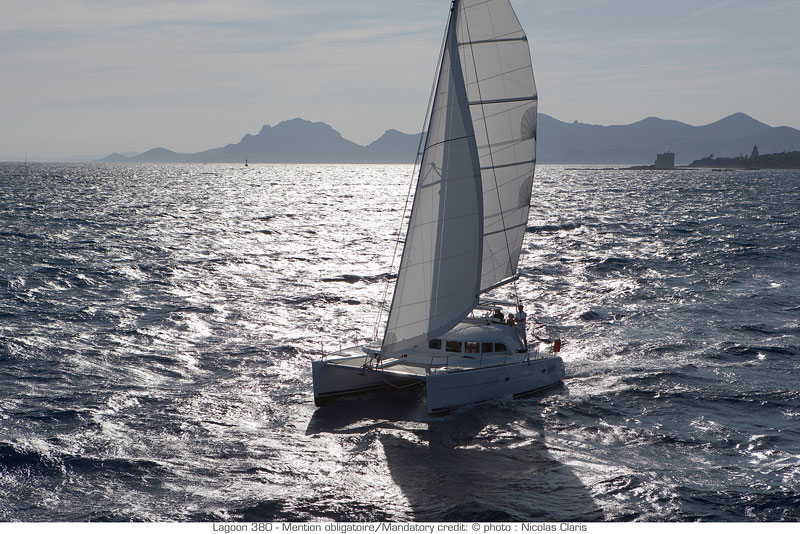 Lagoon 380 Class - Catamaran for Charter in Greece
