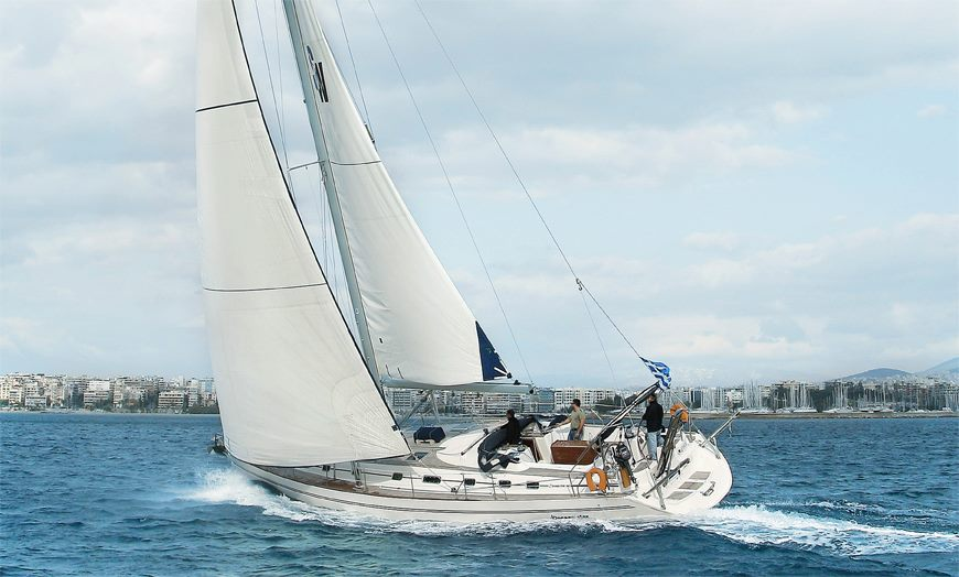 KATERINA - Sailing Yacht for Charter in Greece