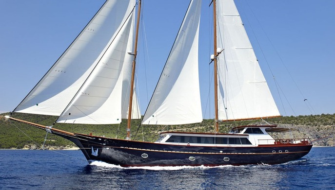 Iraklis L. - Motor Sailer for Charter in Greece