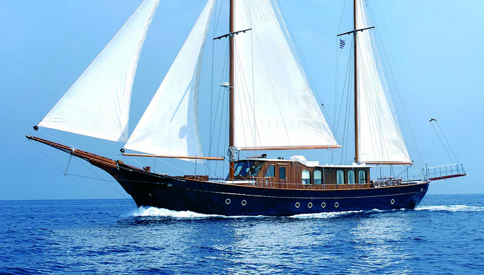 Liana H - Motor Sailer for Charter in Greece