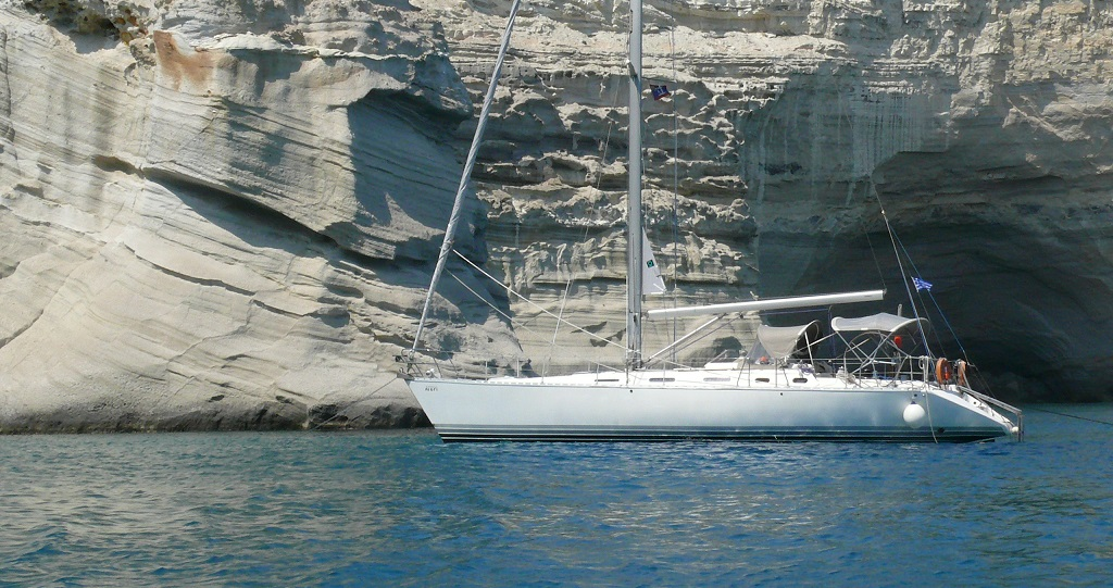 Ageri - Sailing Yacht for Charter in Greece