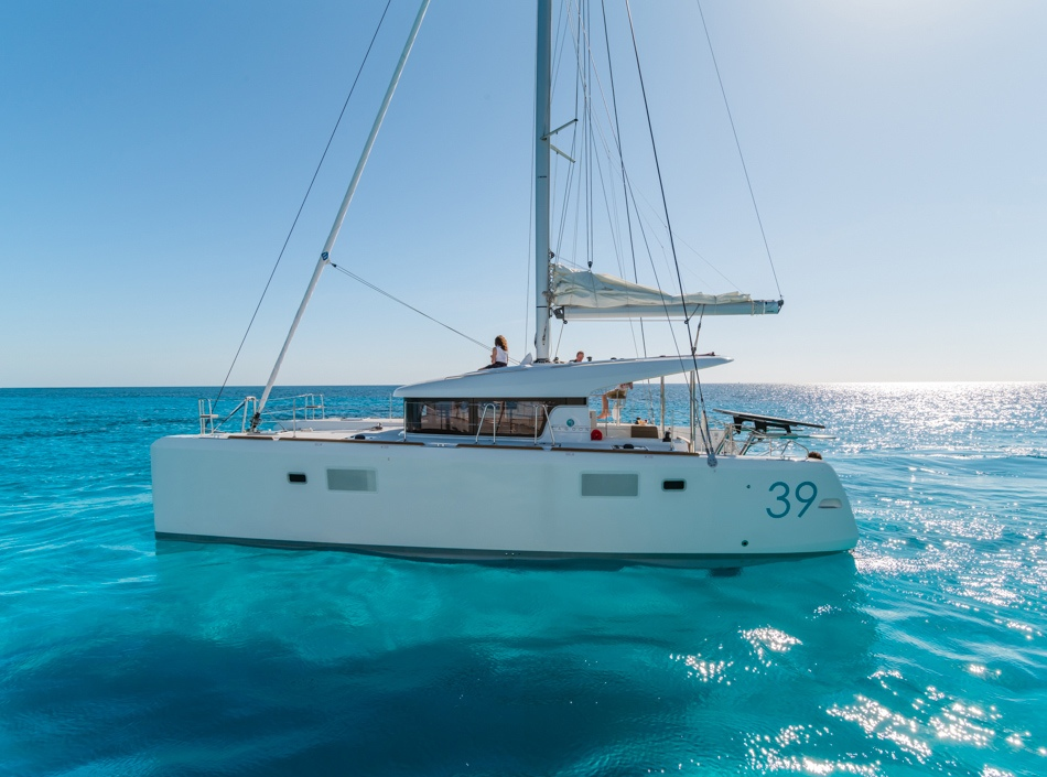 Lagoon 39 Class - Catamaran for Charter in Greece