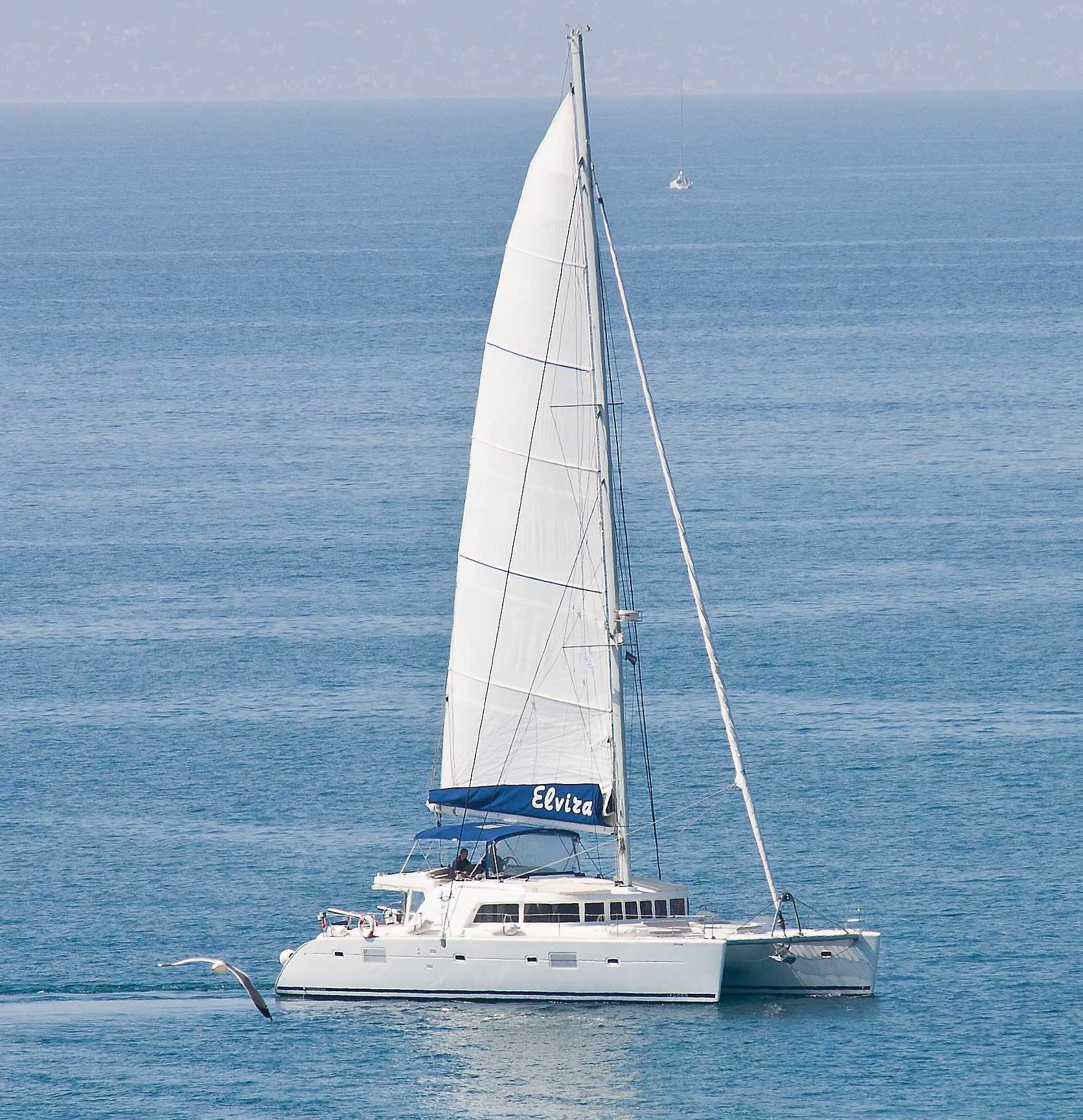 ELVIRA - Catamaran for Charter in Greece