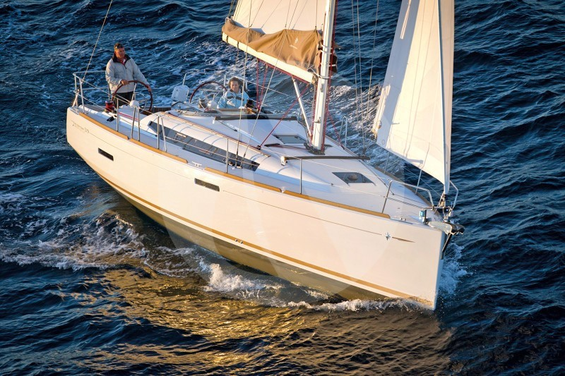 Sun Odyssey 379 Class - Sailing Yacht for Charter in Greece