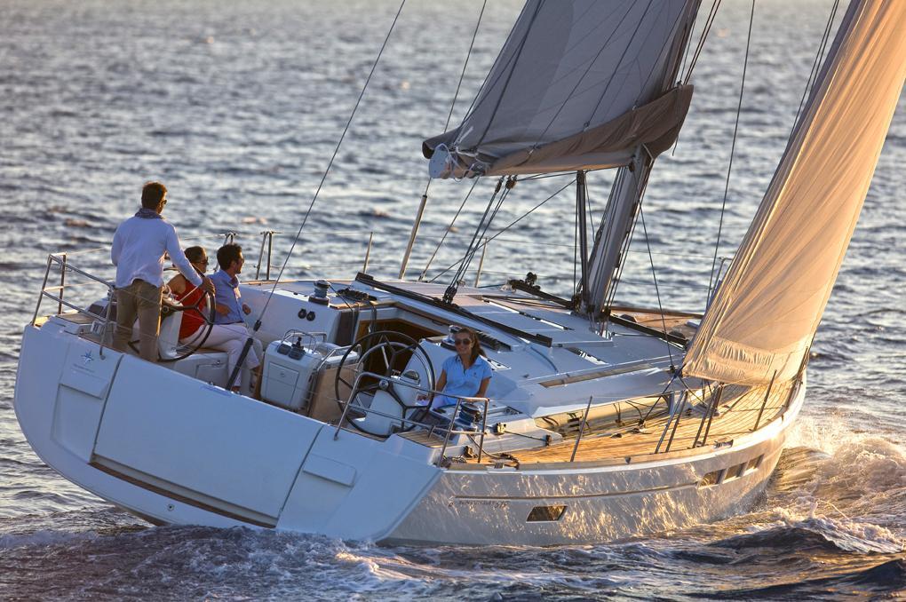 EVA  - Sailing Yacht- Sun Odyssey 519 (5 cabs)