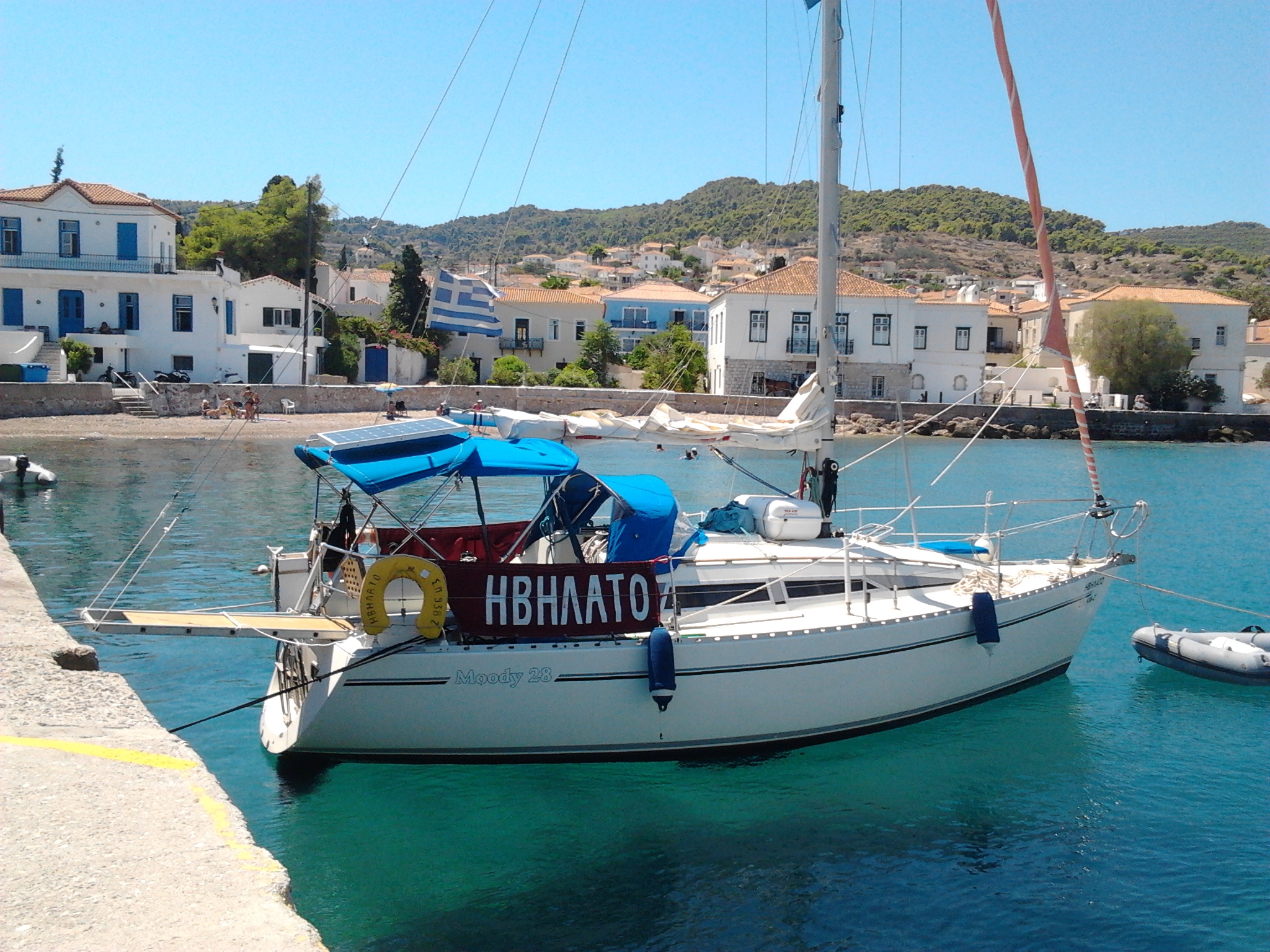IVILATO - Sailing Yacht for Charter in Greece
