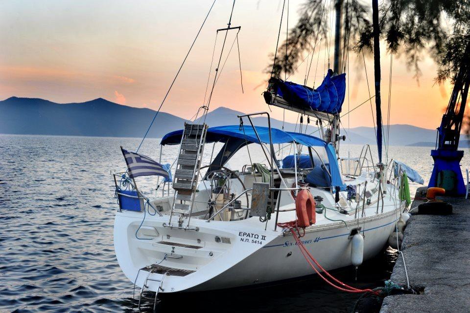 ERATO - Sailing Yacht- Sun Odyssey 44i (4Cab)