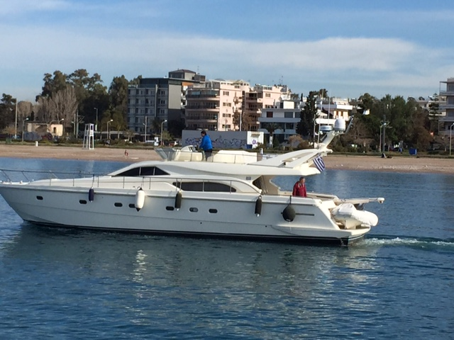 Palmyra 57 - Motor Yacht for Charter in Greece