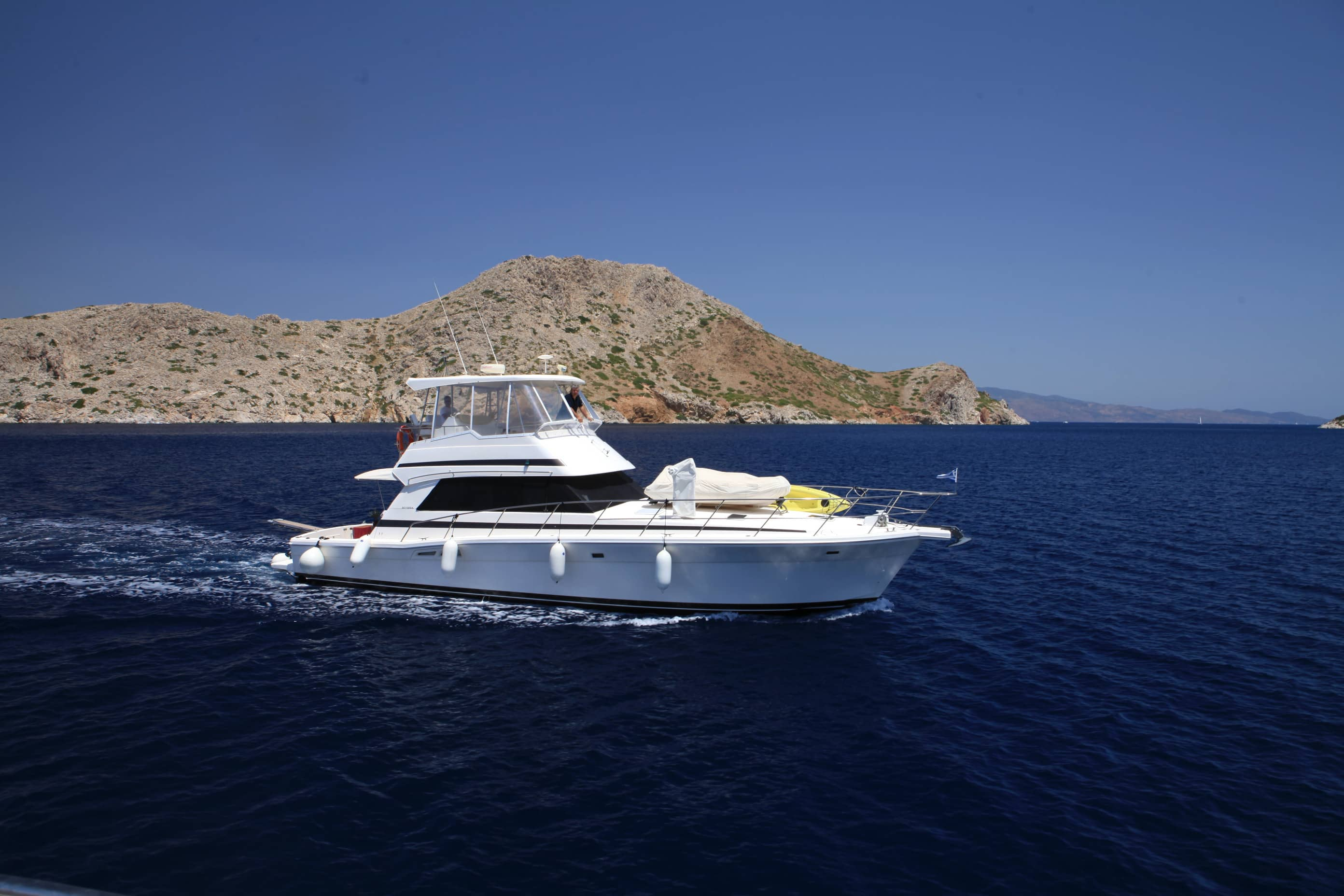 San Lorenzo - Motor Yacht for Charter in Greece