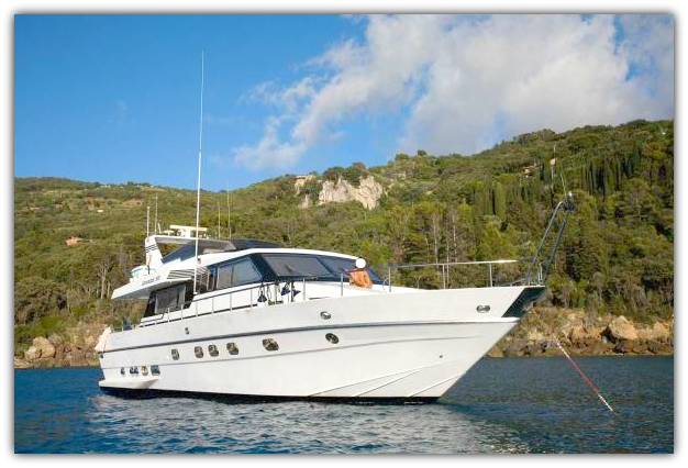 Canados - Motor Yacht for Charter in Greece