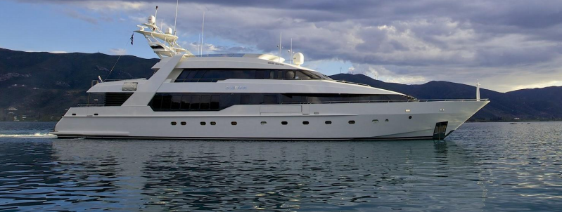 O'LEANNA - Mega Yacht for Charter in Greece