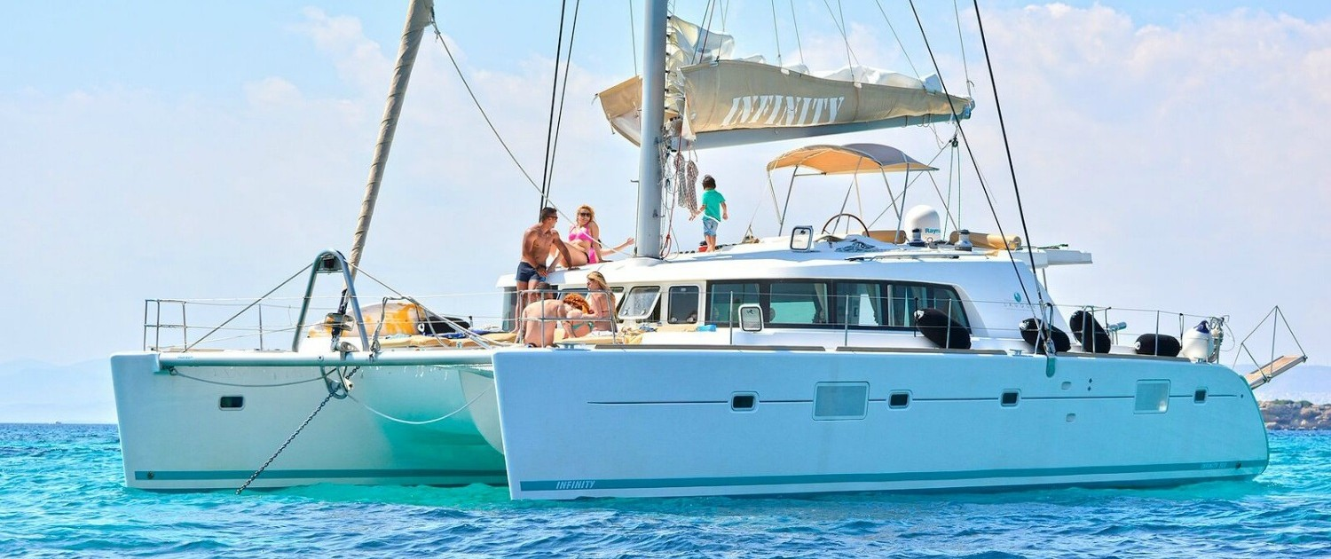 INFINITY - Catamaran for Charter in Greece
