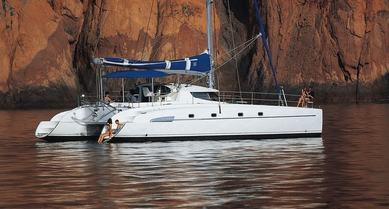 ALION - Catamaran for Charter in Greece