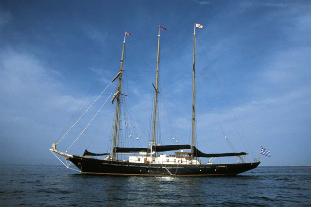 Sir Winston Churchill - Motor Sailer for Charter in Greece