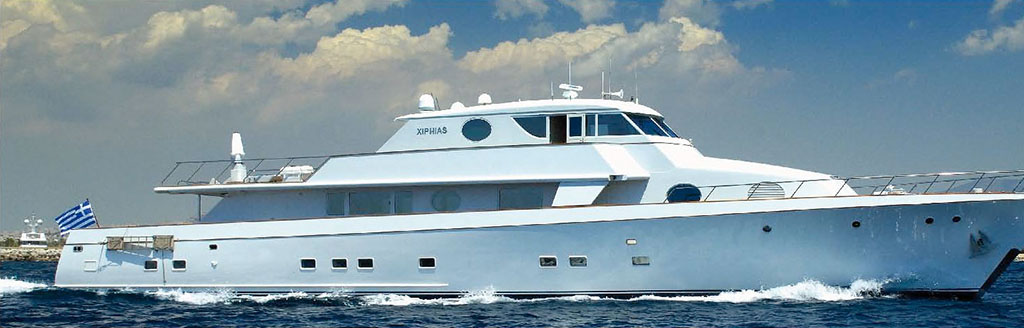 XIPHIAS - Motor Yacht for Charter in Greece