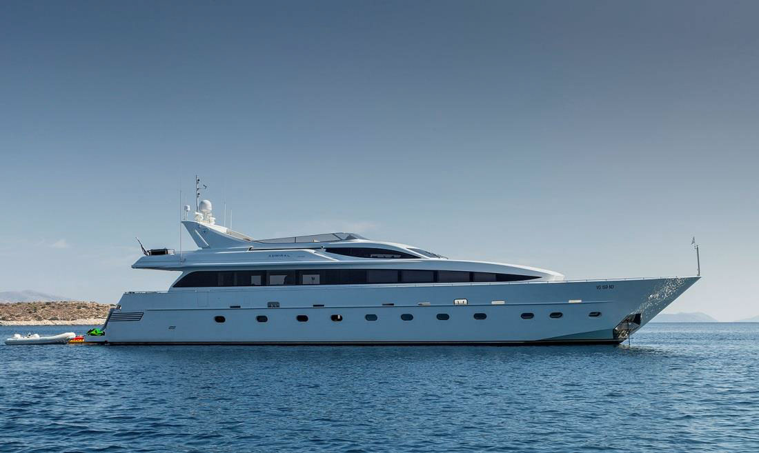 TROPICANA - Mega Yacht for Charter in Greece