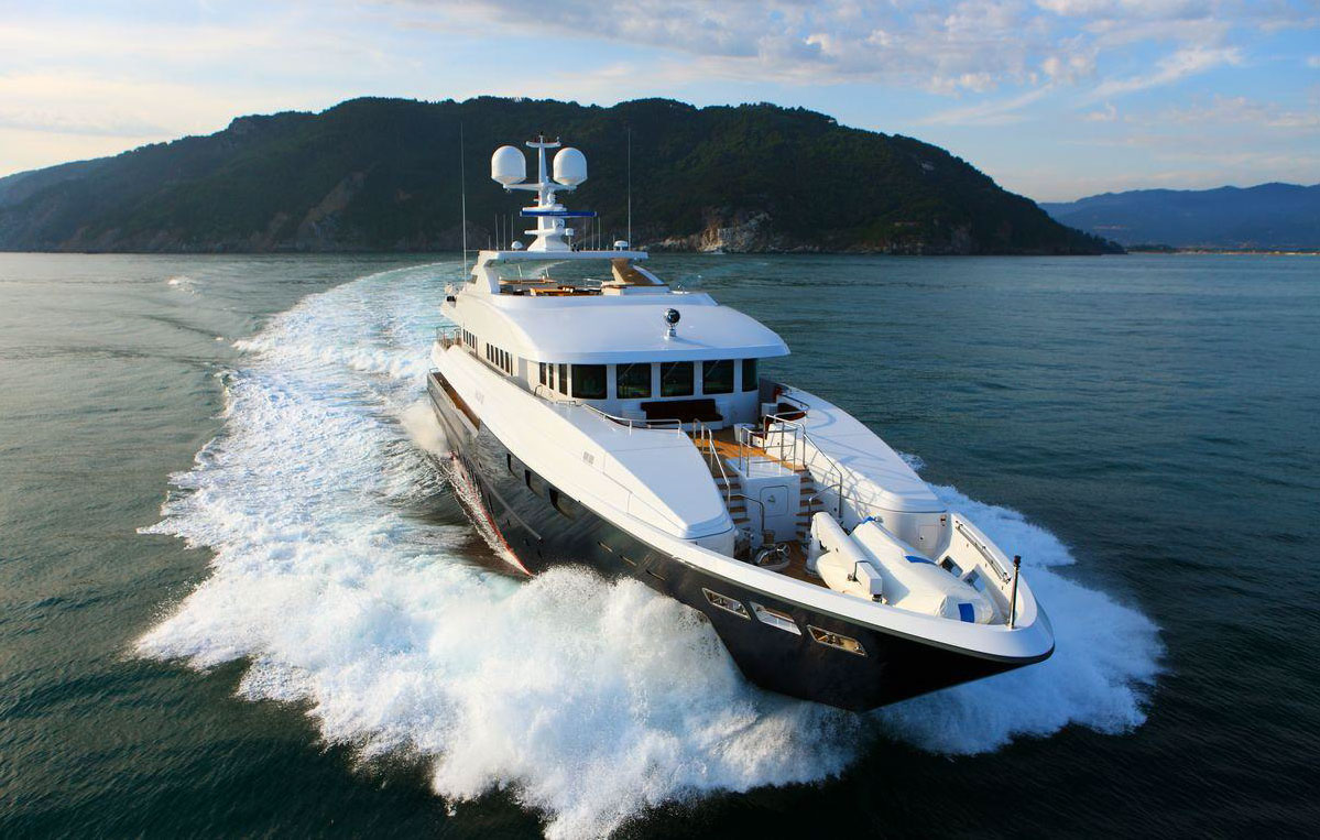 ZALIV III - Mega Yacht for Charter in Greece