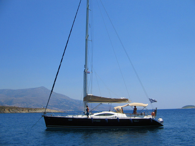 HENK - Sailing Yacht- Sun Odyssey 54 DS (5Cab)