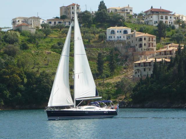 EVITA - Sailing Yacht- Sun Odyssey 49 DS (4Cab)