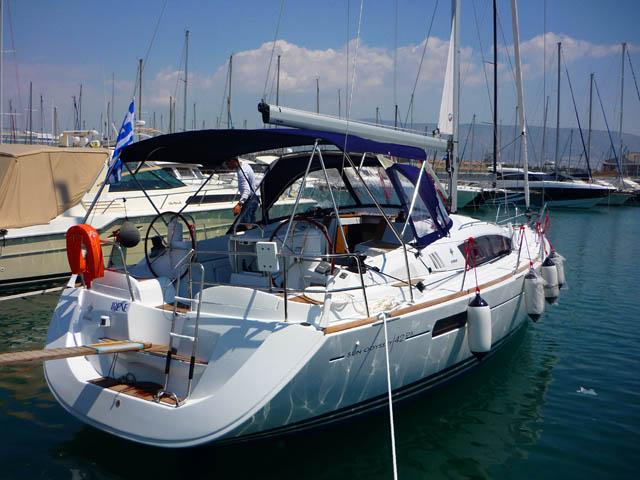 IRENE - Sailing Yacht- Sun Odyssey 42 DS (3Cab)