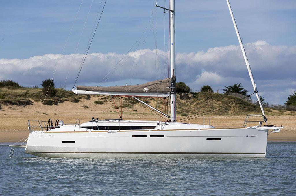 IZZI - Sailing Yacht- Sun Odyssey 419