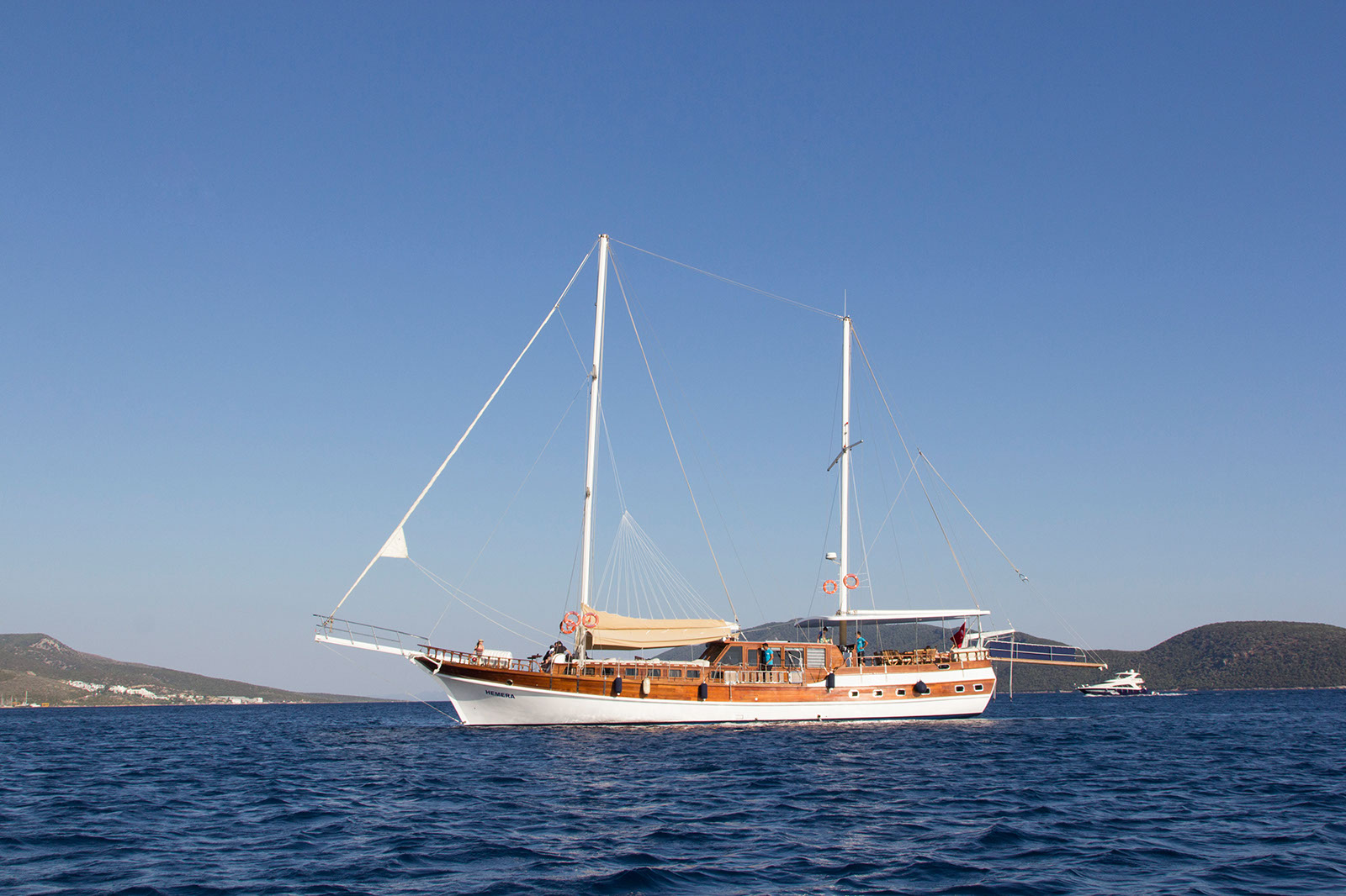 HERA - Motor Sailer for Charter in Greece