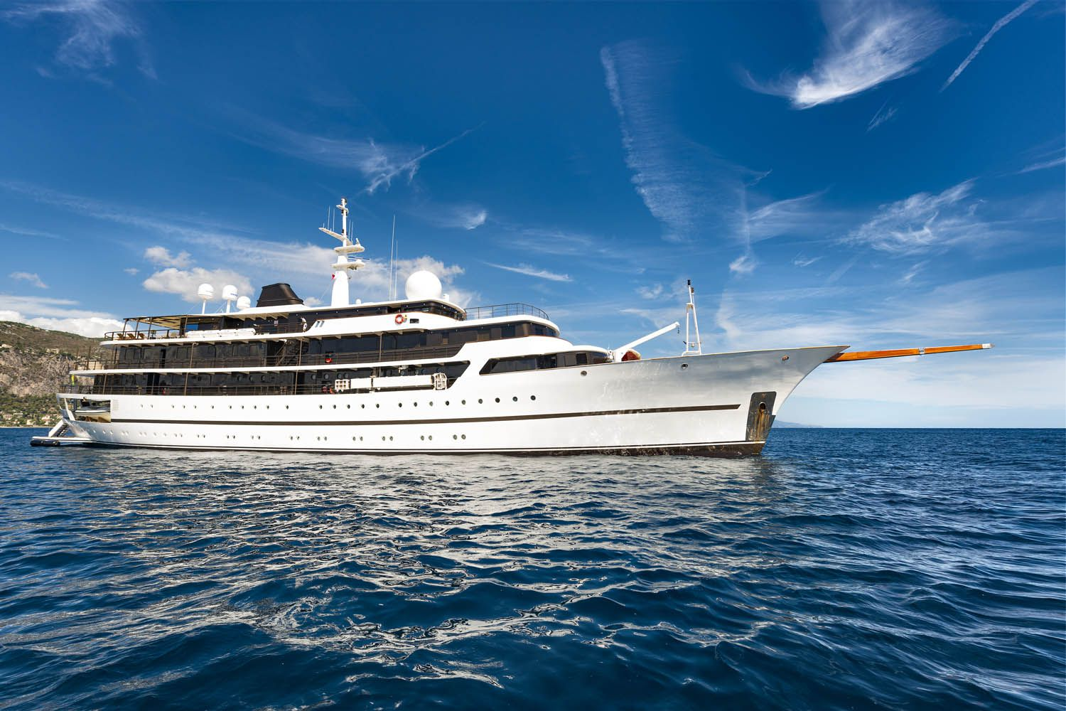 CHAKRA - Mega Yacht for Charter in Greece
