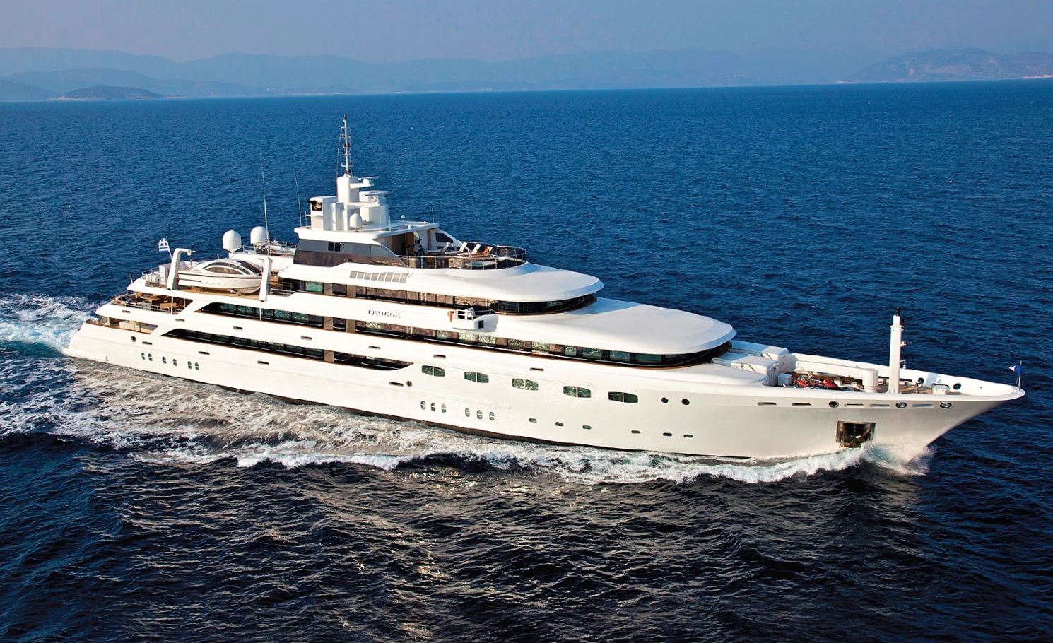 O'MEGA - Mega Yacht for Charter in Greece