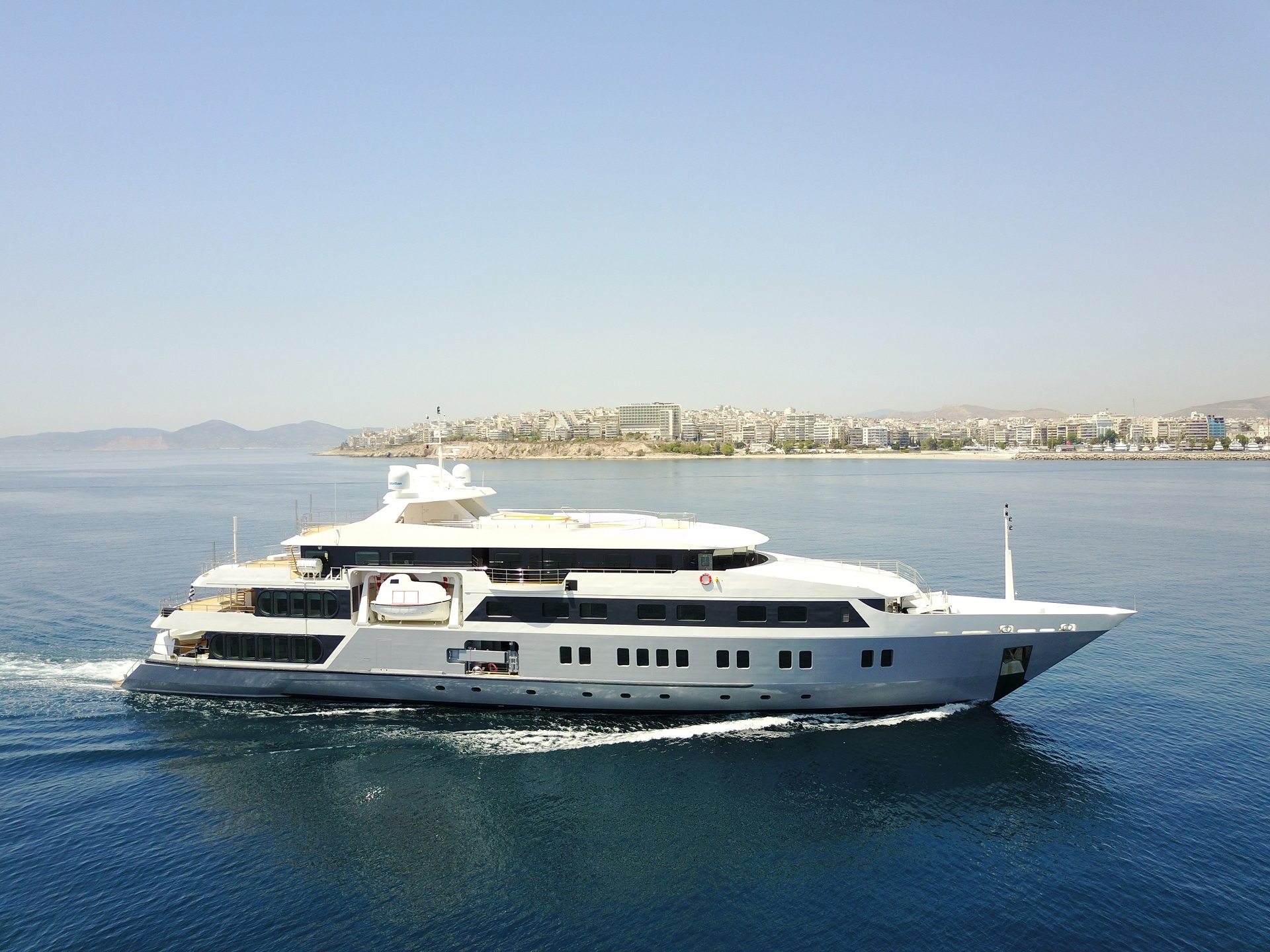 SERENITY - Mega Yacht for Charter in Greece