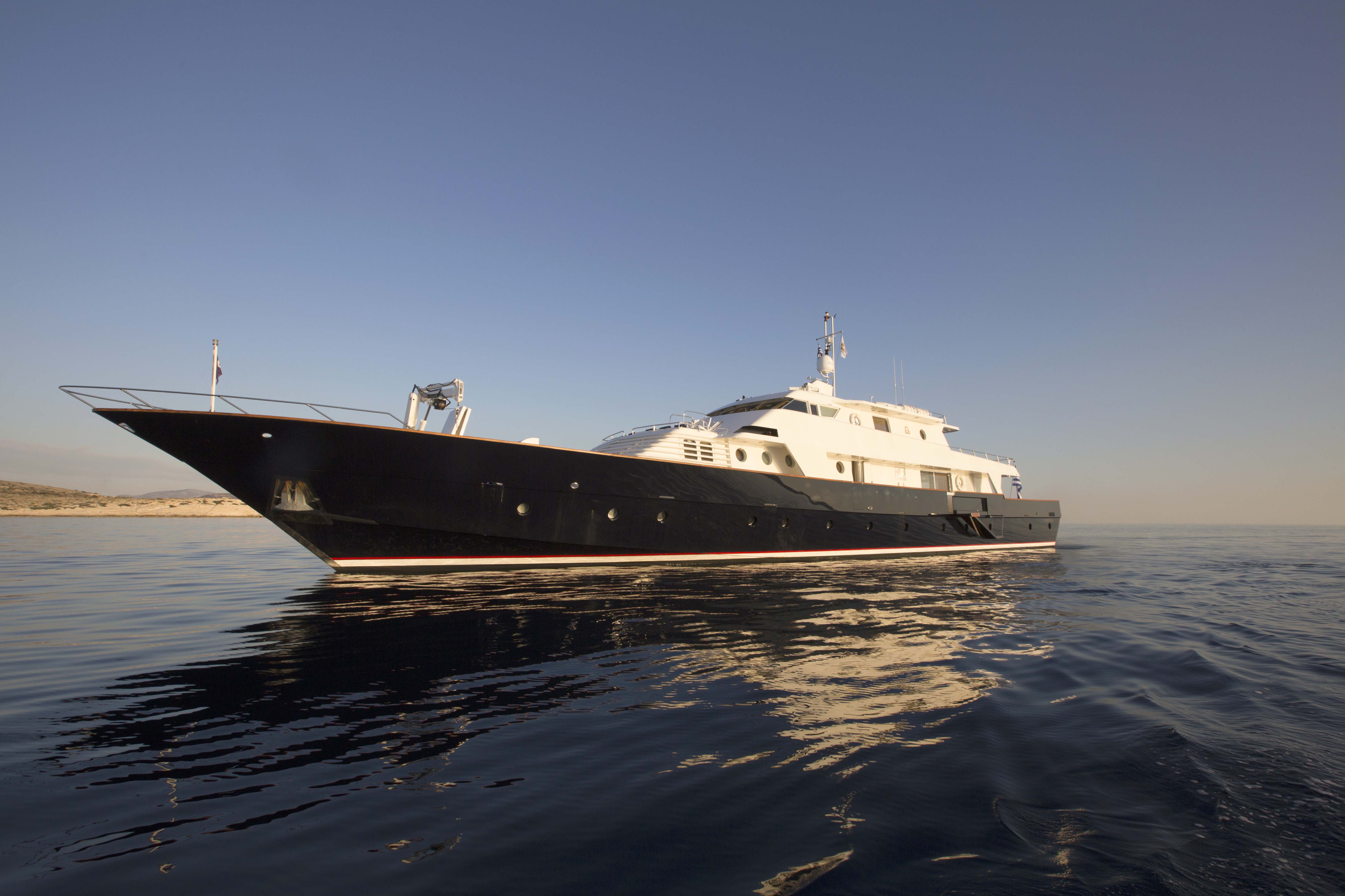 LIBRA Y - Mega Yacht for Charter in Greece