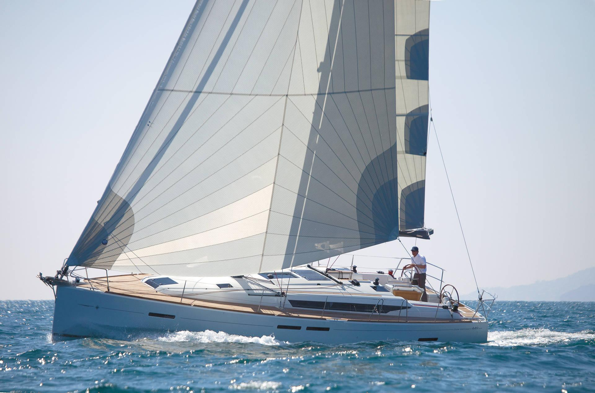 Sun Odyssey 449 Prestige - Sailing Yacht for Charter in Greece