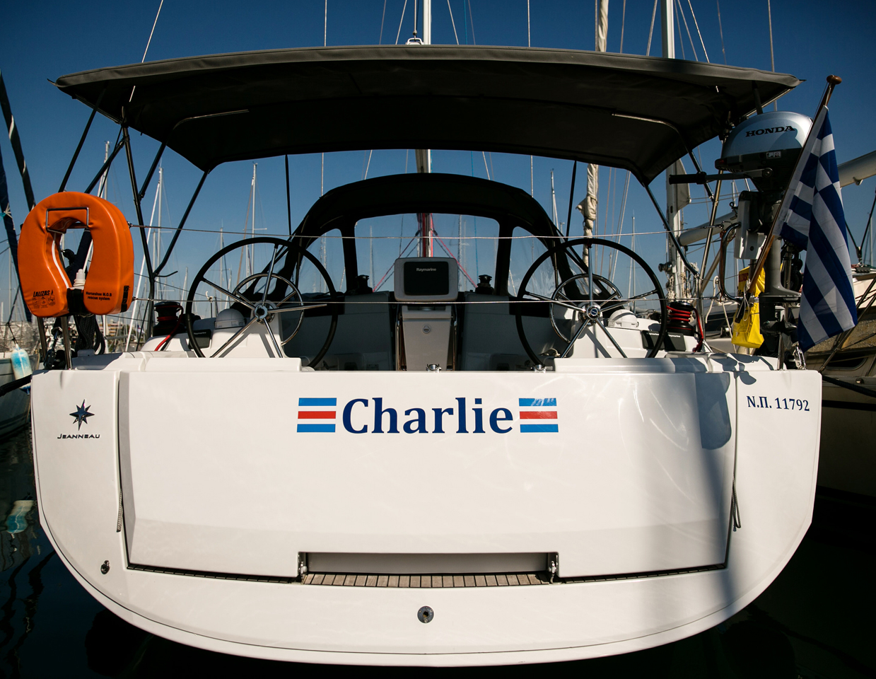 CHARLIE - Sailing Yacht for Charter in Greece