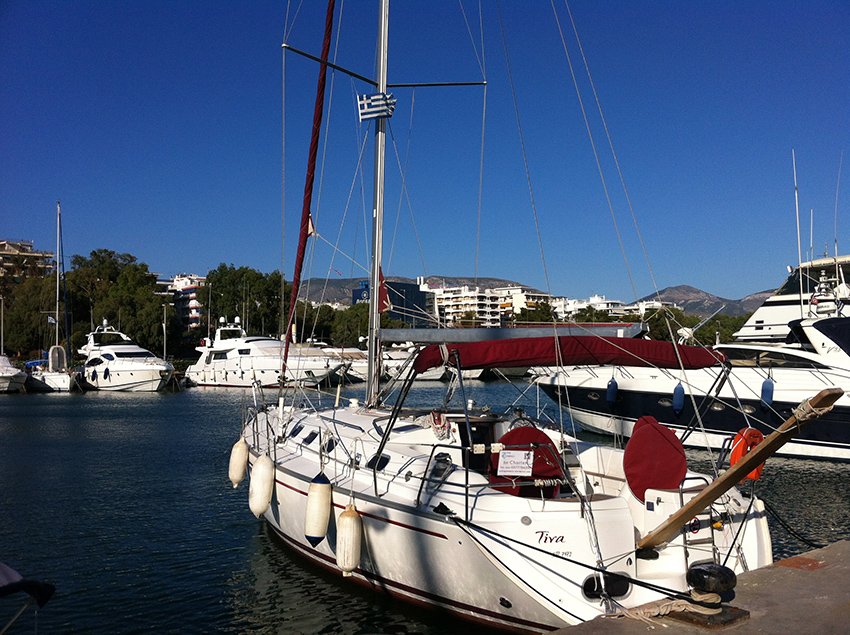 TINA - Sailing Yacht for Charter in Greece