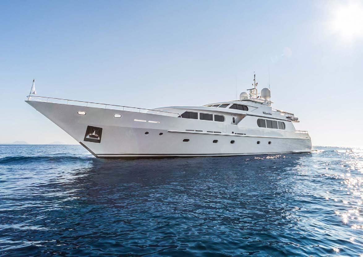 Milos at Sea - Mega Yacht for Charter in Greece