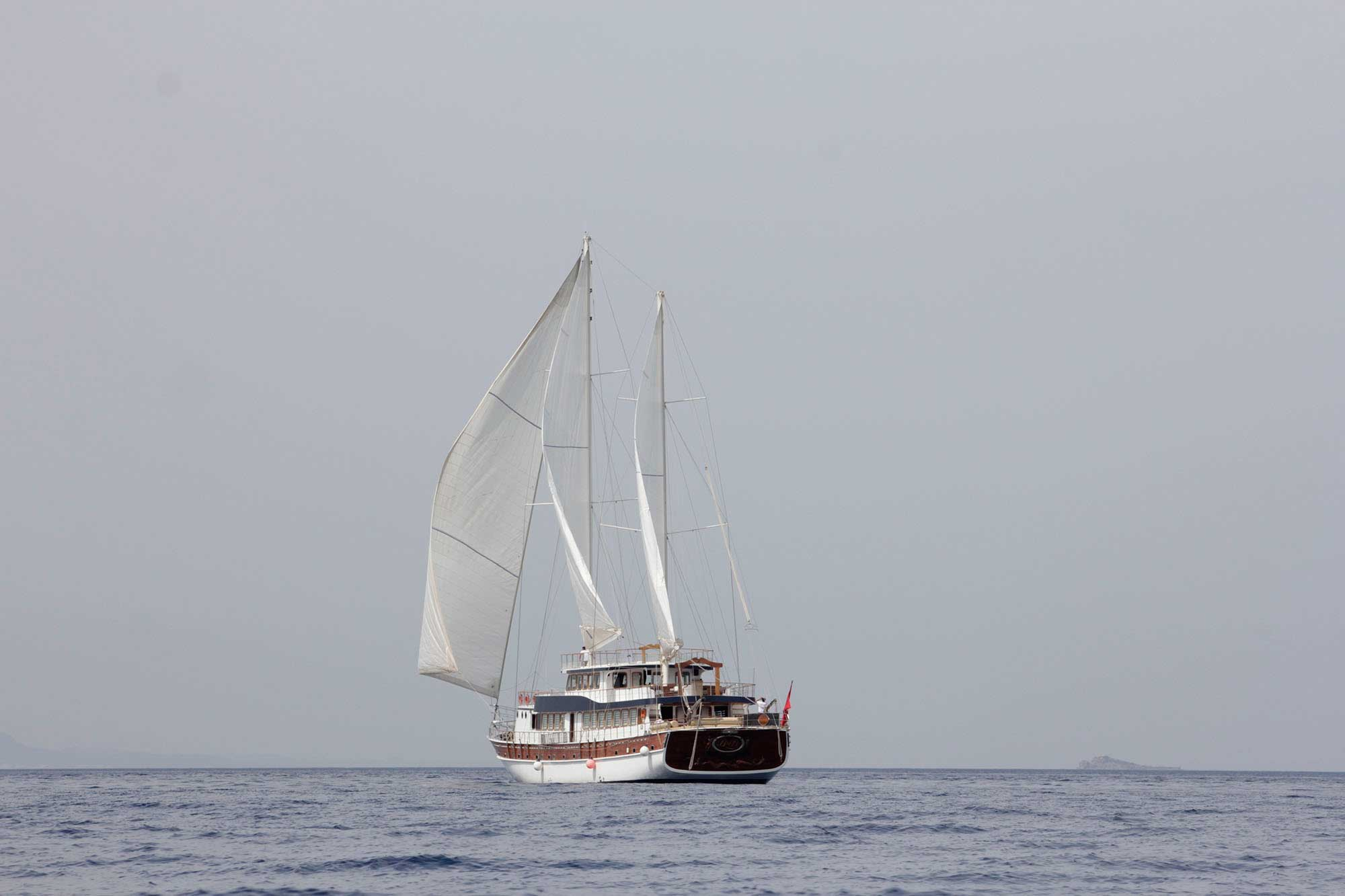 ATHENA - Motor Sailer for Charter in Greece