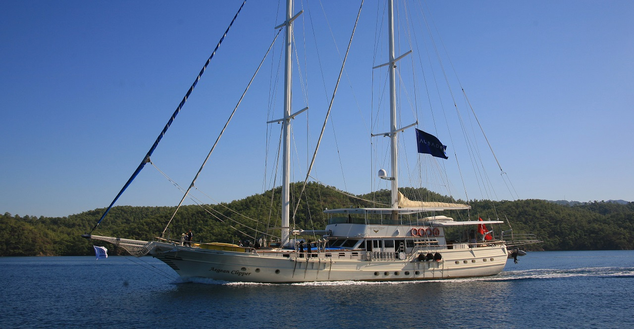 AEGEAN CLIPPER - Motor Sailer for Charter in Greece