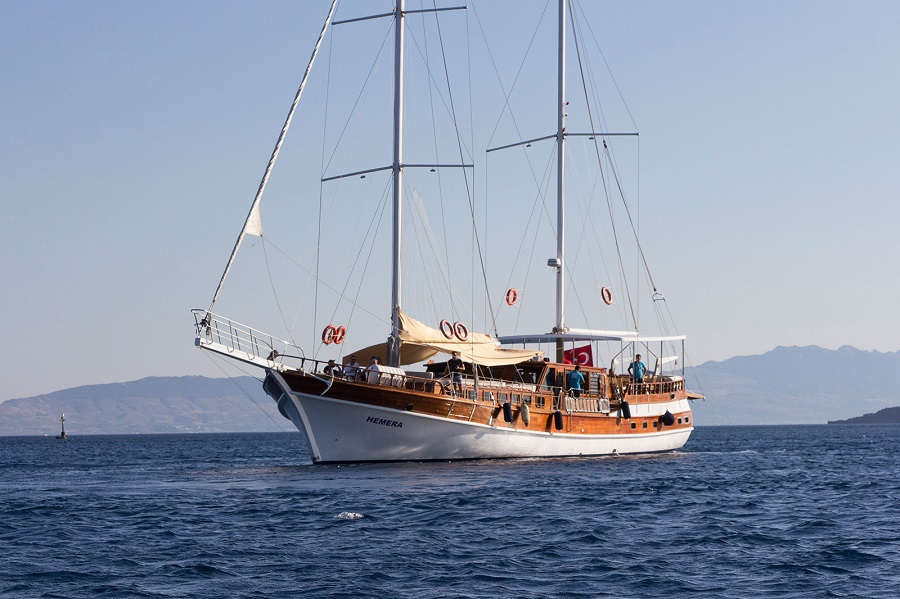 HEMERA - Motor Sailer for Charter in Greece