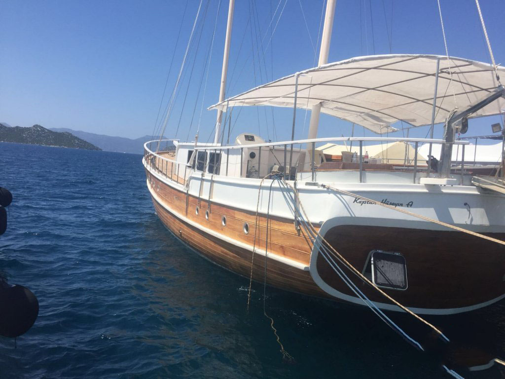 APHRODITE - Motor Sailer for Charter in Greece