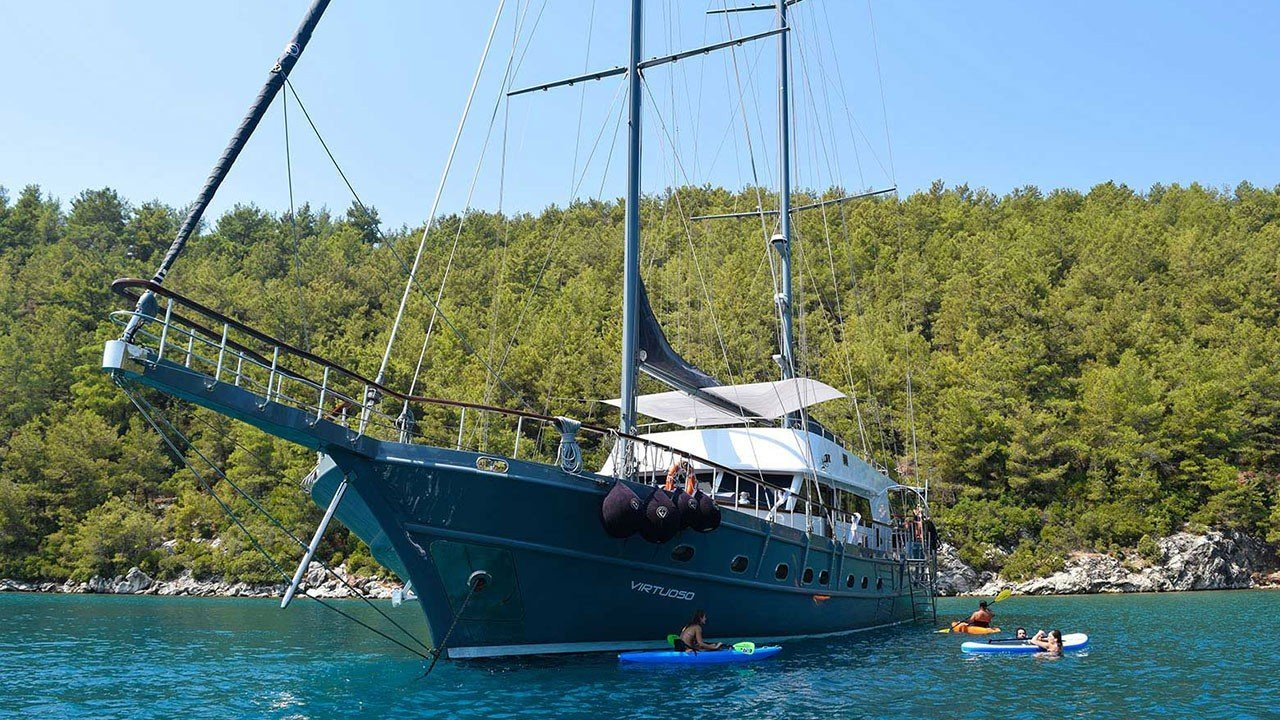 VIRTUOSO - Motor Sailer for Charter in Greece