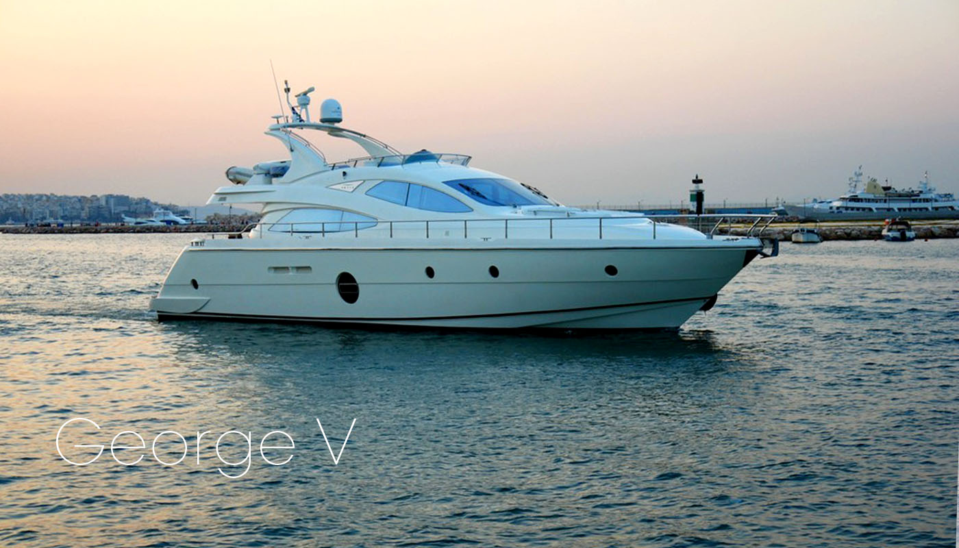 GEORGE V - Motor Yacht for Charter in Greece