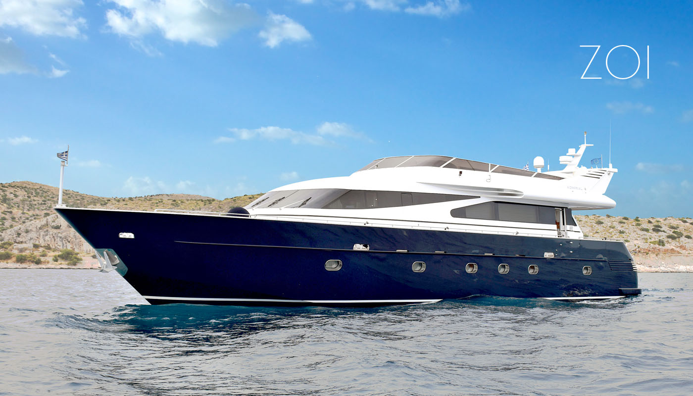 ZOI - Motor Yacht for Charter in Greece