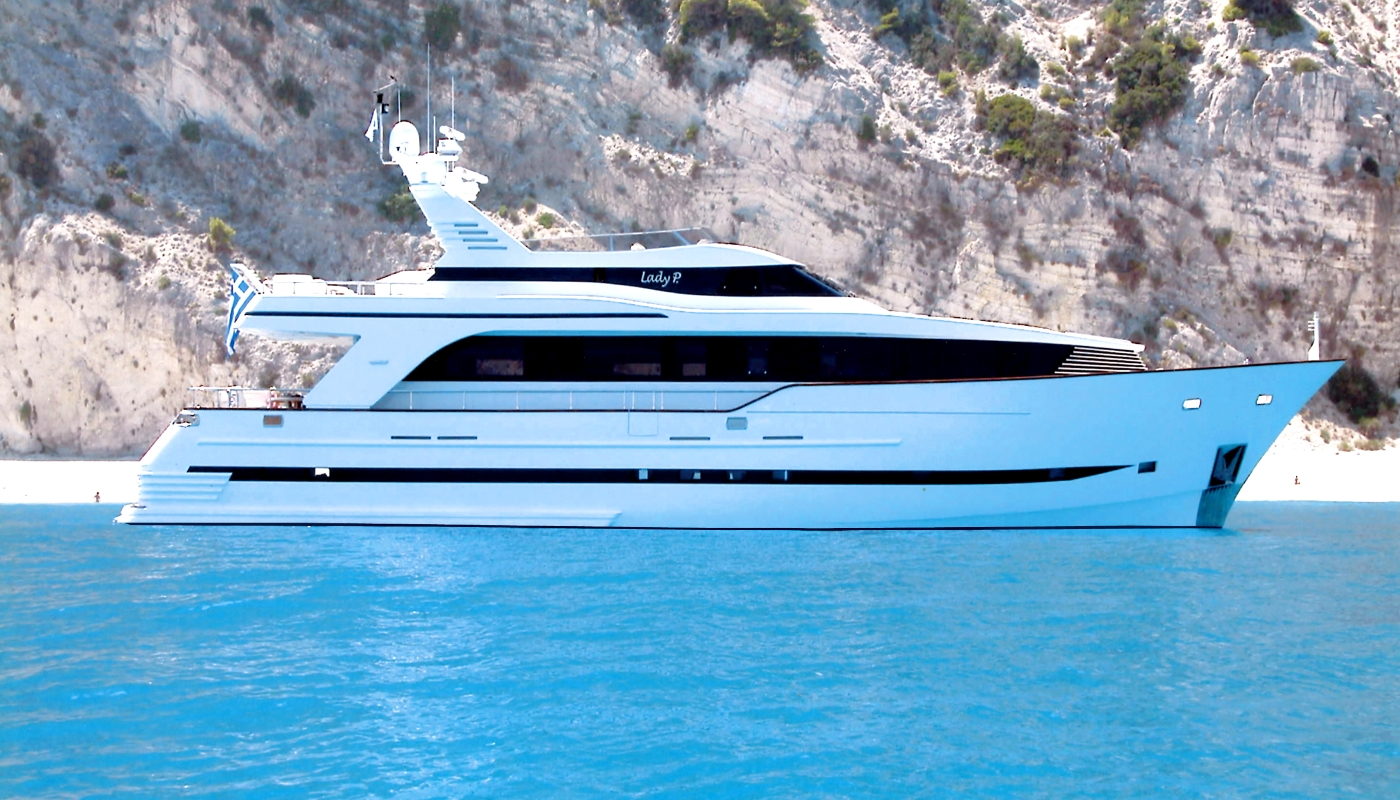 LADY P - Mega Yacht for Charter in Greece