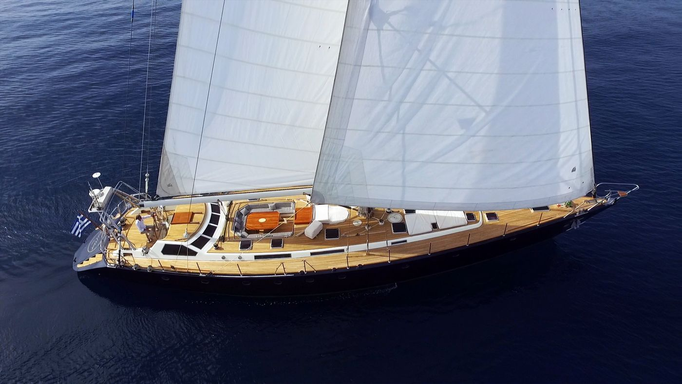 WIND OF CHANGE - Mega Yacht for Charter in Greece
