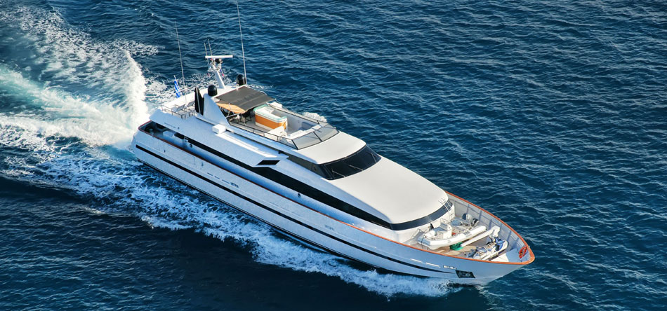 OBSESION - Mega Yacht for Charter in Greece