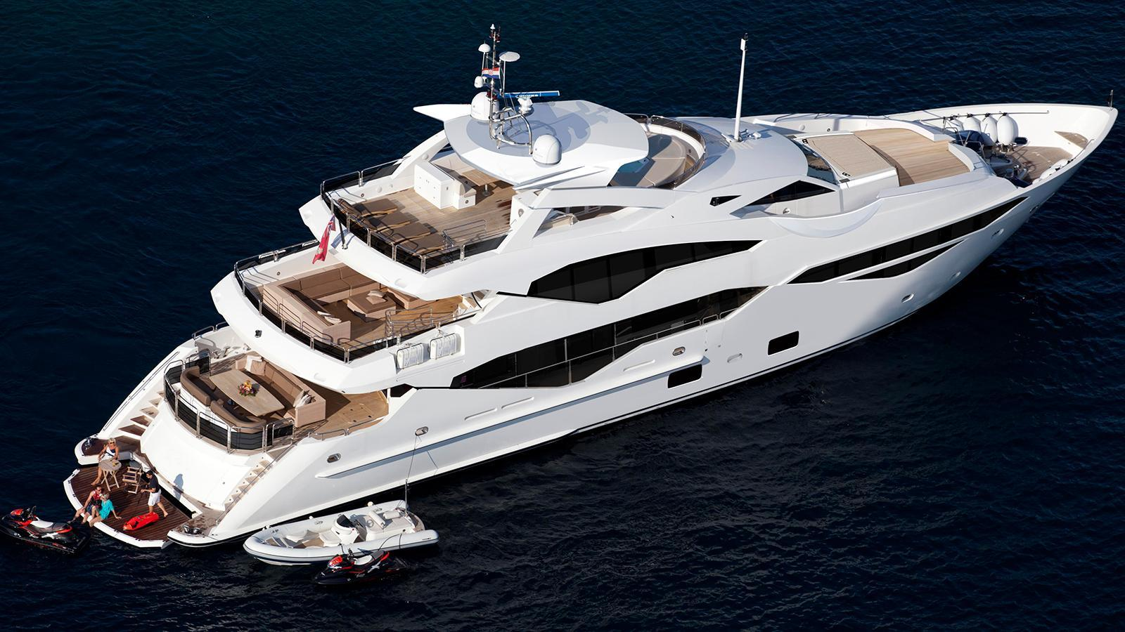 AQUA LIBRA 131 - Mega Yacht for Charter in Greece