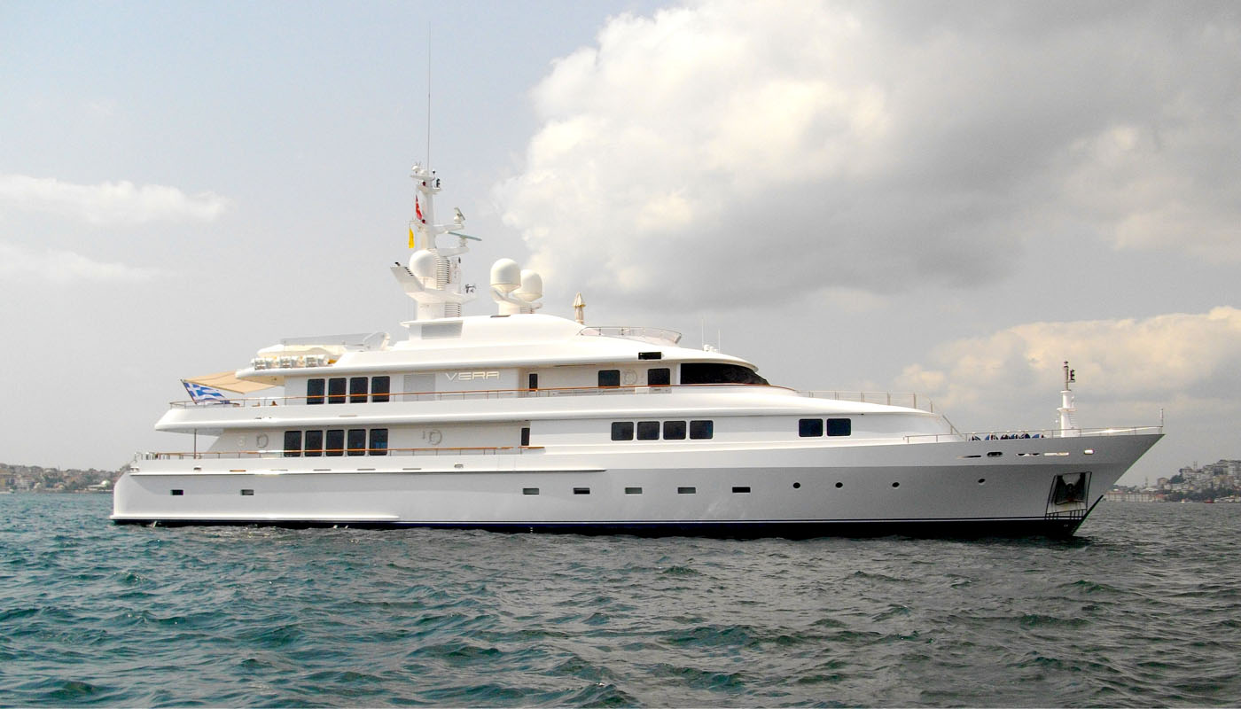 VERA - Mega Yacht for Charter in Greece