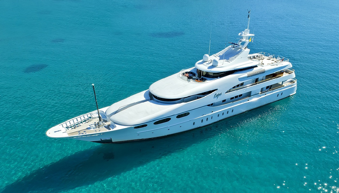 CAPRI I - Mega Yacht for Charter in Greece