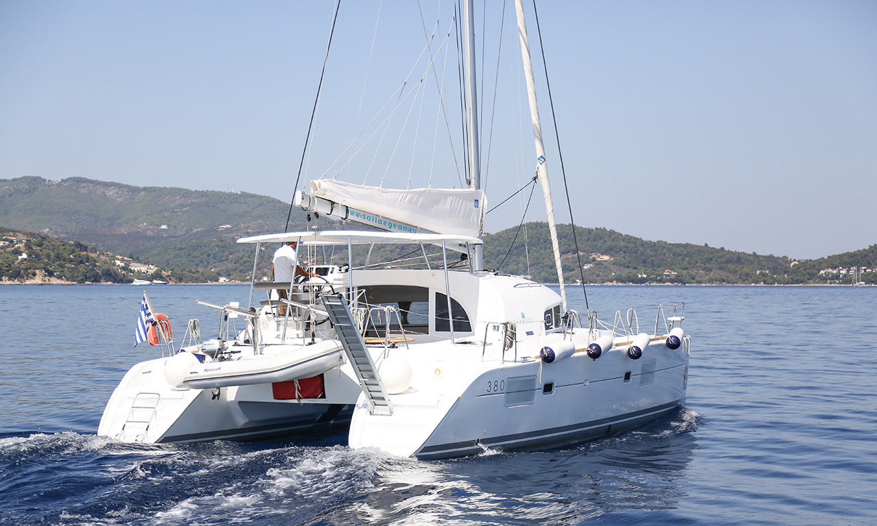 CALYPSO - Catamaran for Charter in Greece