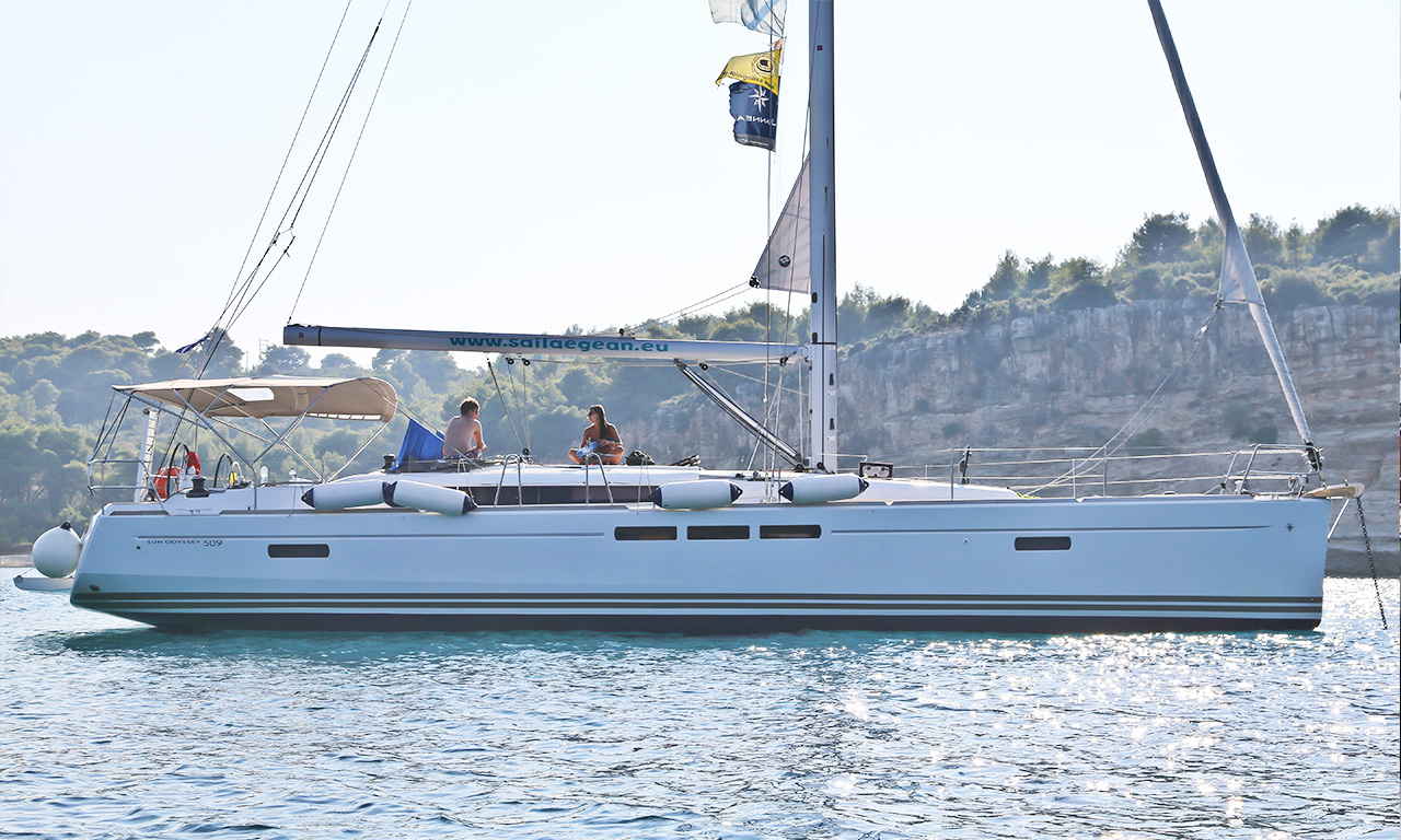 AMFITRITI - Sailing Yacht for Charter in Greece