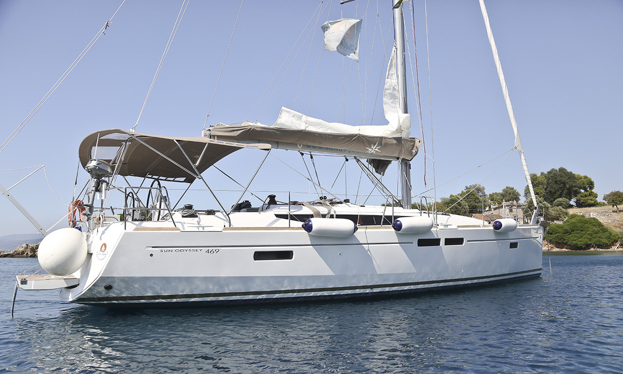 THOE - Sailing Yacht for Charter in Greece